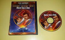 Where Eagles Dare (DVD, 2003) Clint Eastwood, Richard Burton RARE OOP