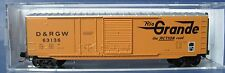Micro-Trains - N Scale #076 00 100 D&RGW 50' Box Car - 2009 - stc#3