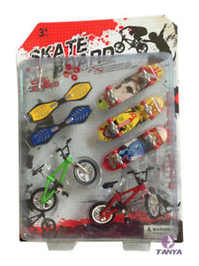 UK stock new Finger Bike Fixie BMX Bicycle Boy Toy DIY Creative Game +skateboard