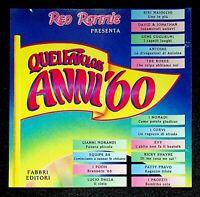 Various - Quei Favolosi Anni '60 1966 - 1 - Fabbri Editori - CD CD003063