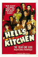HELL'S KITCHEN Movie POSTER 27x40 The Dead End Kids Billy Halop Bobby Jordan Leo