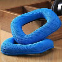2Pc Unique Blue Replacement Ear Pads Cushions Earpads for Logitech G35 Headphone