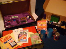 """BULK LOT OF MAGIC TRICKS - MIXED SETS AND PIECES - MISSING ITEMS - """"AS-IS"""""""