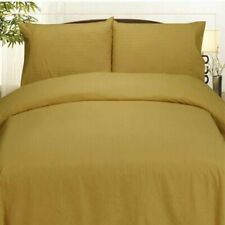 Embossed Dobby Stripe Microfiber Comforter & Sheet Set 12 Colors