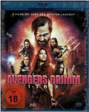 Avengers Grimm 1-3 Box (Blu-ray) Fim - NEU & OVP