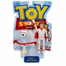 Disney Pixar Toy Story 4 Poseable Figure - Forky and Duke Caboom *BRAND NEW*