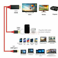 USB-C Type C to HDMI HDTV TV Cable Adapter For Samsung Galaxy S10 S9 S8 Note 9 8