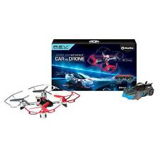 WowWee Robotic Enhanced Vehicles (R.E.V) REV Air 1 Drone and 1 Car