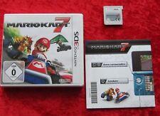 Mario Kart 7, 3D, Nintendo 3DS Spiel, deutsche Version
