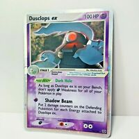 Dusclops Ex 94/106 Ex Emerald Holo Pokemon Card Played/ Crease/ peeling