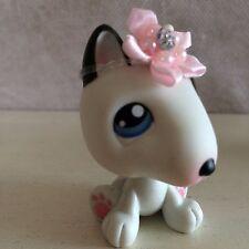 Littlest Pet Shop No # Journal Bull Terrier Dog Black White - FREE shipping