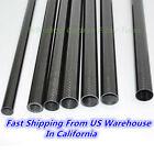 25mm 3K Carbon Fiber Tube OD25mm X ID20 21 22 23mm L1000mm Roll Wrapped Poles -G