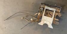 Heater Controls w/ Face Plate off 1978 Datsun 280Z. —(B)