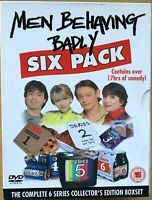 Men Behaving Badly Six Pack DVD Coffret TV Comédie Série Saison 1 2 3 4 5 6