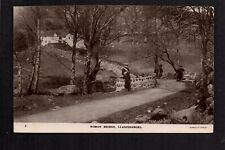 Llanfihangel - Roman Bridge - real photographic postcard