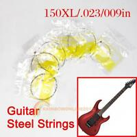 New Acoustic Guitar Set of Electric Guitar 6 Steel Strings XL150/.023/009in E