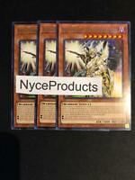 3x Black Luster Soldier - Envoy of the Evening Twilight TOCH-EN033 Rare YuGiOh