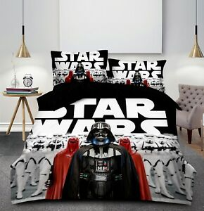 NEW Star Wars Quilt Cover Set Pillowcase Single Double Queen Size Bedding