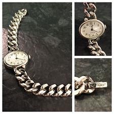 Anker Uhr Damenuhr Silberuhr 800er Silber 18,5 cm Armbanduhr Handaufzug