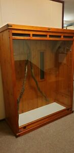 snake / reptile large timber enclosure