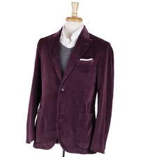 NWT $1395 BOGLIOLI Plum Purple Velvet 'K Jacket' Blazer 38 R (Eu 48) Sport Coat