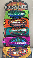 SURVIVOR BUFFS Borneo, Australia, Africa, Marquesas, Thailand or 4 or 5 Buff Set