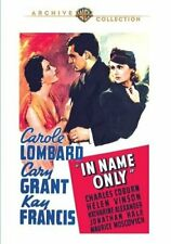 In Name Only (1939 Carole Lombard) DVD NEW