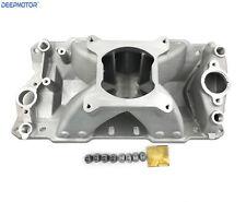 Deepmotor Hi Rise Small Block Chevy Sbc Single Plane Intake Manifold 350 400