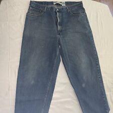 mens levis 560 comfort fit jeans 40 X 30 (29) Euc Blue Denim VG