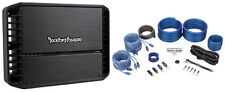 Rockford Fosgate Punch P400X4 400 Watt RMS 4 Channel Car Amplifier+Amp Wire Kit