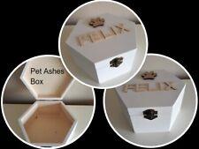 Personalised Pet Cat Ashes Memory Box