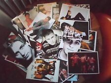 lotto stock carte,card,cartoline fotografie take that e altro