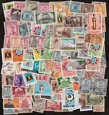 IRAQ 1918-1970 LARGE ACCUMULATION OF STAMPS (100)