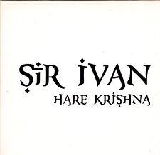 Sir Ivan-Hare Krishna Promo cd maxi single 8 tracks