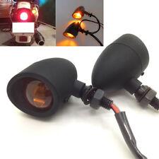 2pcs Metal Motorcycle Turn Signal Light Custom Indicator For Cafe Racer Bobber