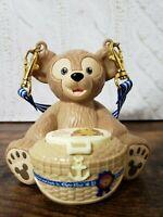 Tokyo Disney Resort Duffy Candy Case  Figure bucket Ornament JAPAN