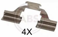 Accessory Kit, disc brake pads A.B.S. 1684Q