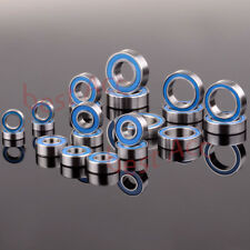 21PCS Ball Bearing KIT Metric Blue Rubber Sealed RC Traxxas Slash 4x4 Stampede
