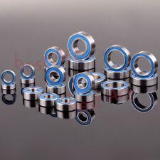 Bearing 21PCS Ball KIT Metric Blue Rubber Sealed RC Traxxas Slash 4x4 Stampede