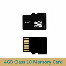 4GB Class 10 Micro SD Card TF Flash Memory MicroSDHC For Camera RG