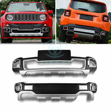 Car ABS Front&Rear Bumper Protector Board Thickening Type Fit For Jeep Renegade