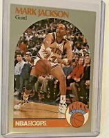 1990-91 MARK JACKSON HOOPS BASKETBALL CARD #205 MENENDEZ BROTHERS Set of 2