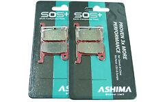 Shimano XTR 2 pares para VR + HR sos multi compound balatas cochuras Ashima MC