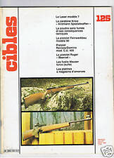 CIBLES N°125  ARMES TIR CHASSE / HUNTING ARMS