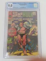 Tales To Astonish #84 CGC 9.0 Hulk & Sub Marinar - FREE Shipping