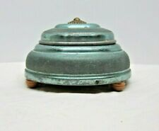 Antique Victorian Vanity Powder Music Box Plays Beautiful Dreamer