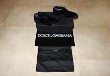 Dolce&Gabbana Black Label MILANO Velvet-Leather Derby Shoes 40 EU (6)495€, RARE!
