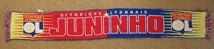 Echarpe Olympique Lyonnais Juninho Lyon supporter Retro vintage OL