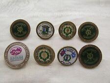 8 Vintage St Andrews Scotland Old Course Golf Ball Marker Various Patterns
