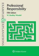 Examples and Explanations: Professional Responsibility by W. Bradley Wendel (20…